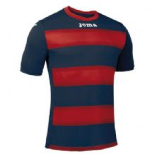 JOMA Europa III Jersey - Dark Navy / Red